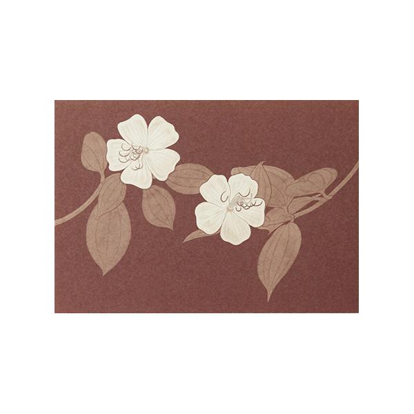 No.631野の花 ノボタン Pカード