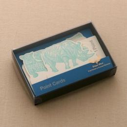 No.602 ポイントカード ブルー