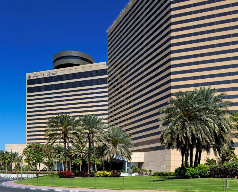 Book Hyatt Regency Dubai (Dubai) at the best deal|Find the