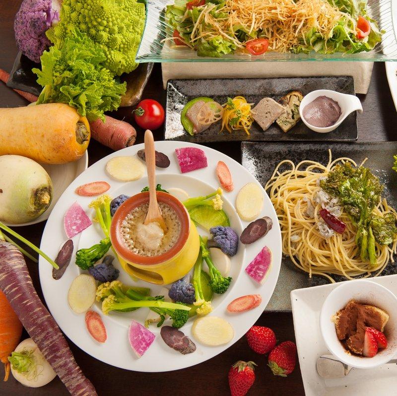 料理9品3300円コースのイメージ