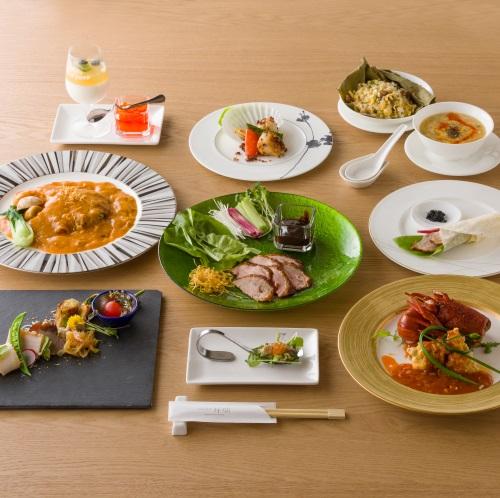 祥瑞名菜席コースのイメージ