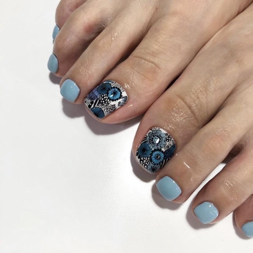 マリメッコ ×ブルーのイメージ