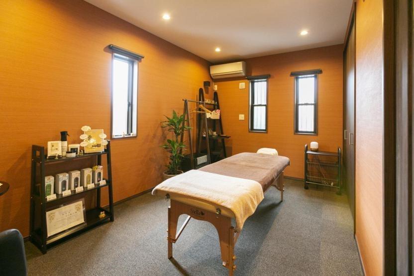 完全個室の癒し空間/リンパマッサージルームのイメージ