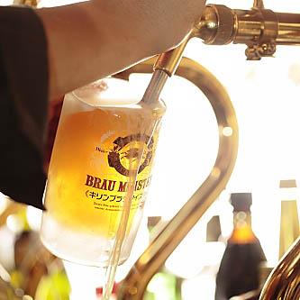 4種類の生ビールありのイメージ
