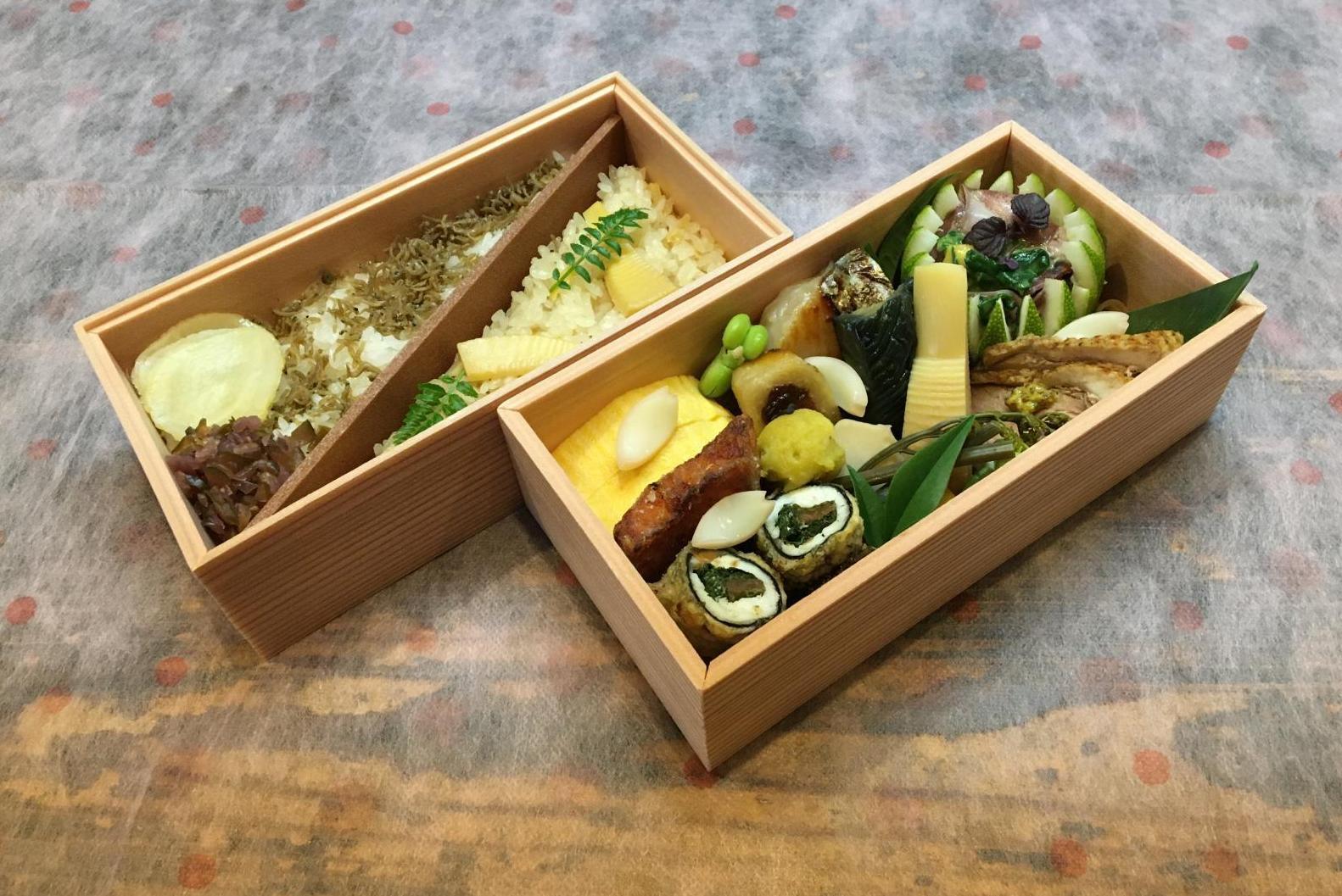 折詰弁当のイメージ