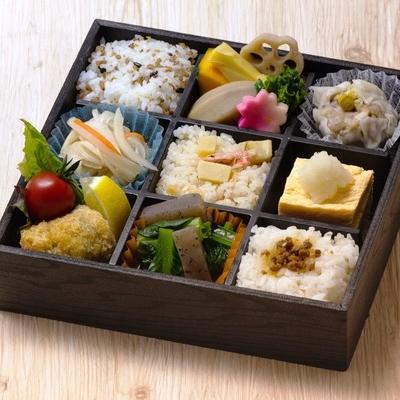 静岡県立大学×NASUBI「静岡ブランド健康食」弁当のイメージ