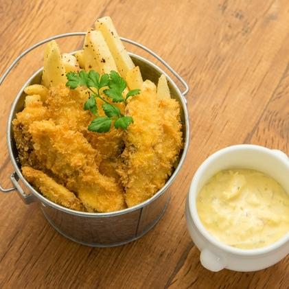 しずまえ鮮魚のフィッシュ&チップスのイメージ