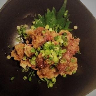 【肴】砂肝おろしポン酢のイメージ