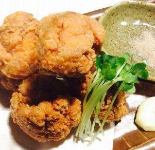 【揚】鶏の唐揚げのイメージ