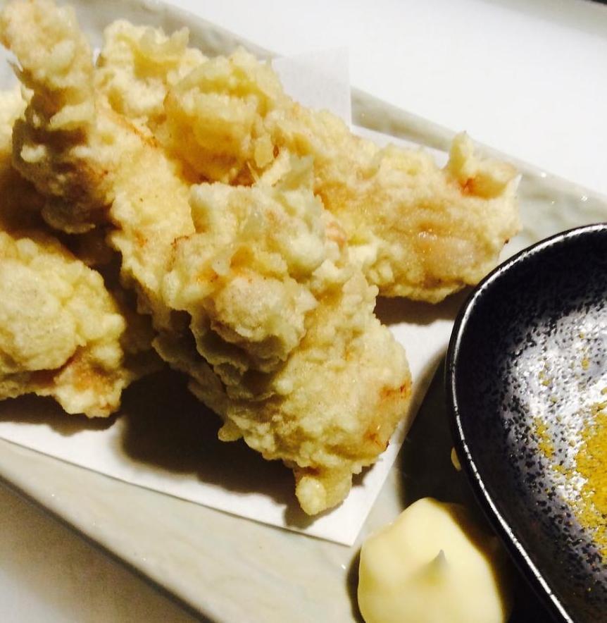 【揚】葉隠風鶏の天ぷらのイメージ