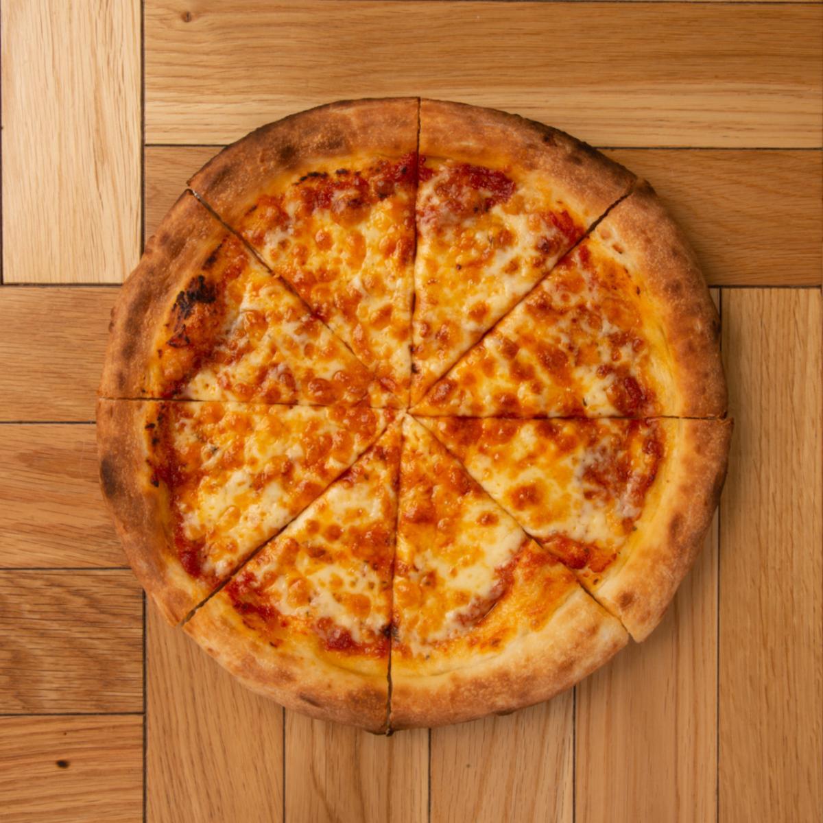 チーズピザ 【ドリンク&ポテトセット】のイメージ