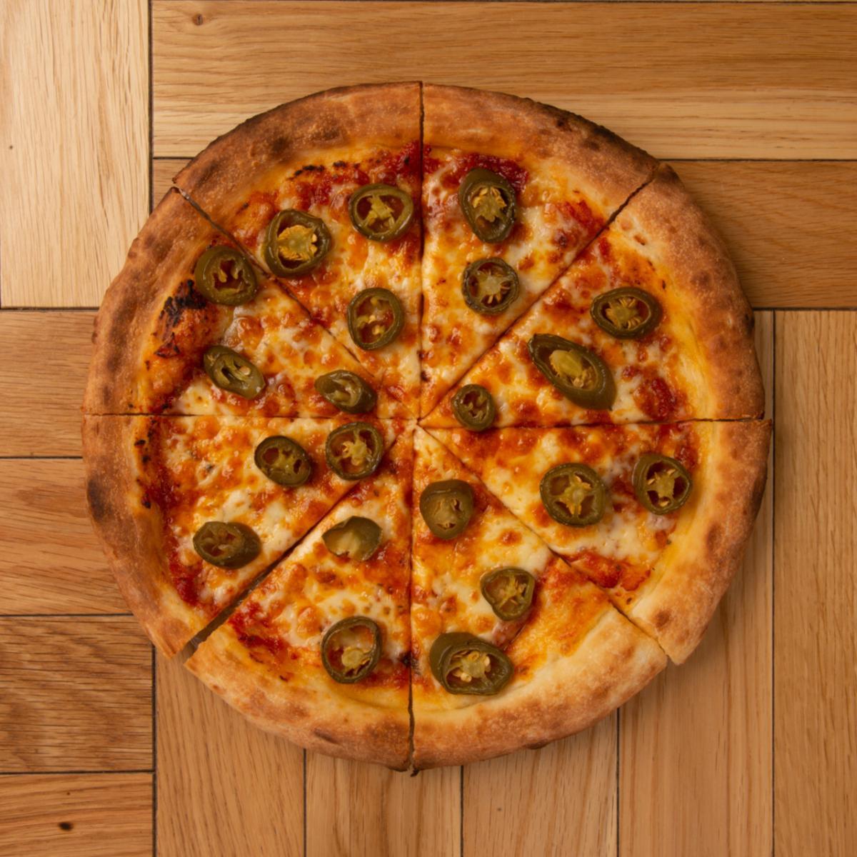 ハラペーニョピザ 【ドリンク&ポテトセット】のイメージ
