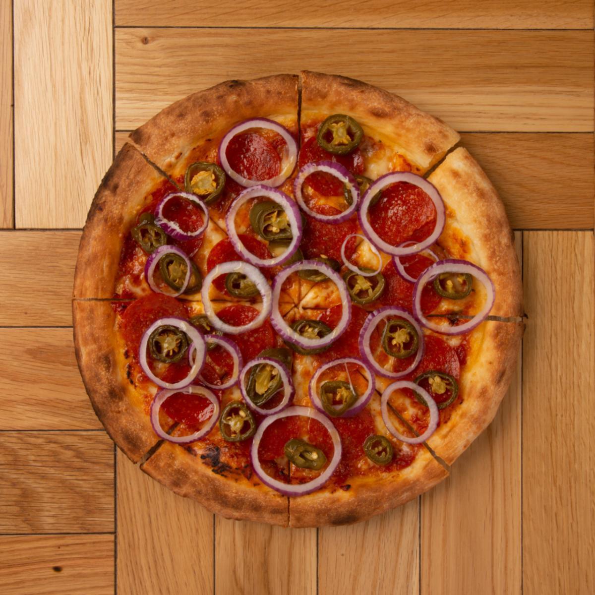 シュプリームピザ【ドリンク&ポテトセット】のイメージ
