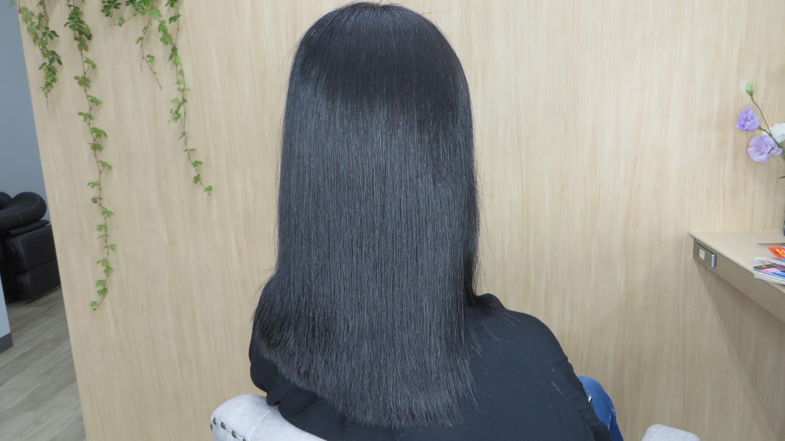 縮毛矯正のイメージ
