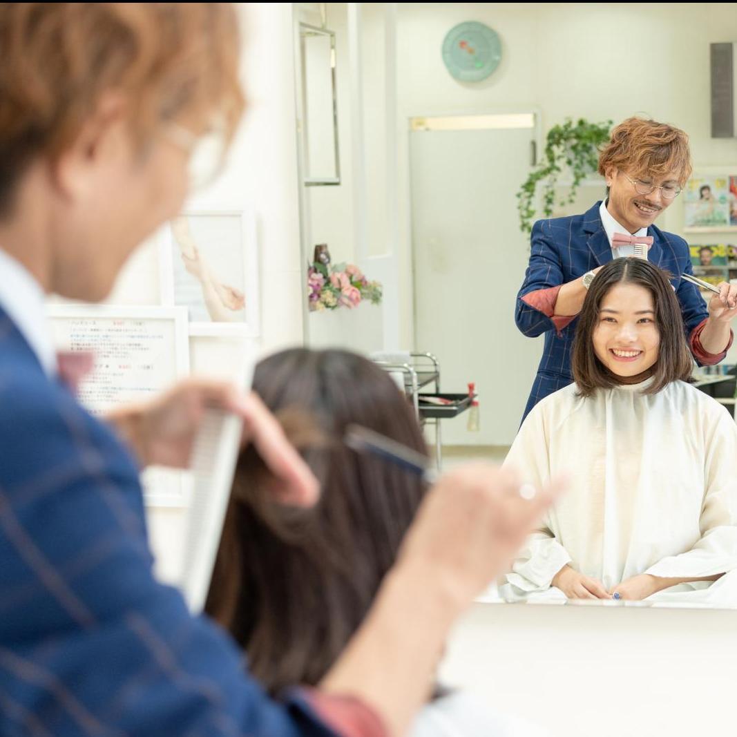【髪/リラク】カット+ヘッドケア+リラクゼーションマッサージ(S・B別)のイメージ