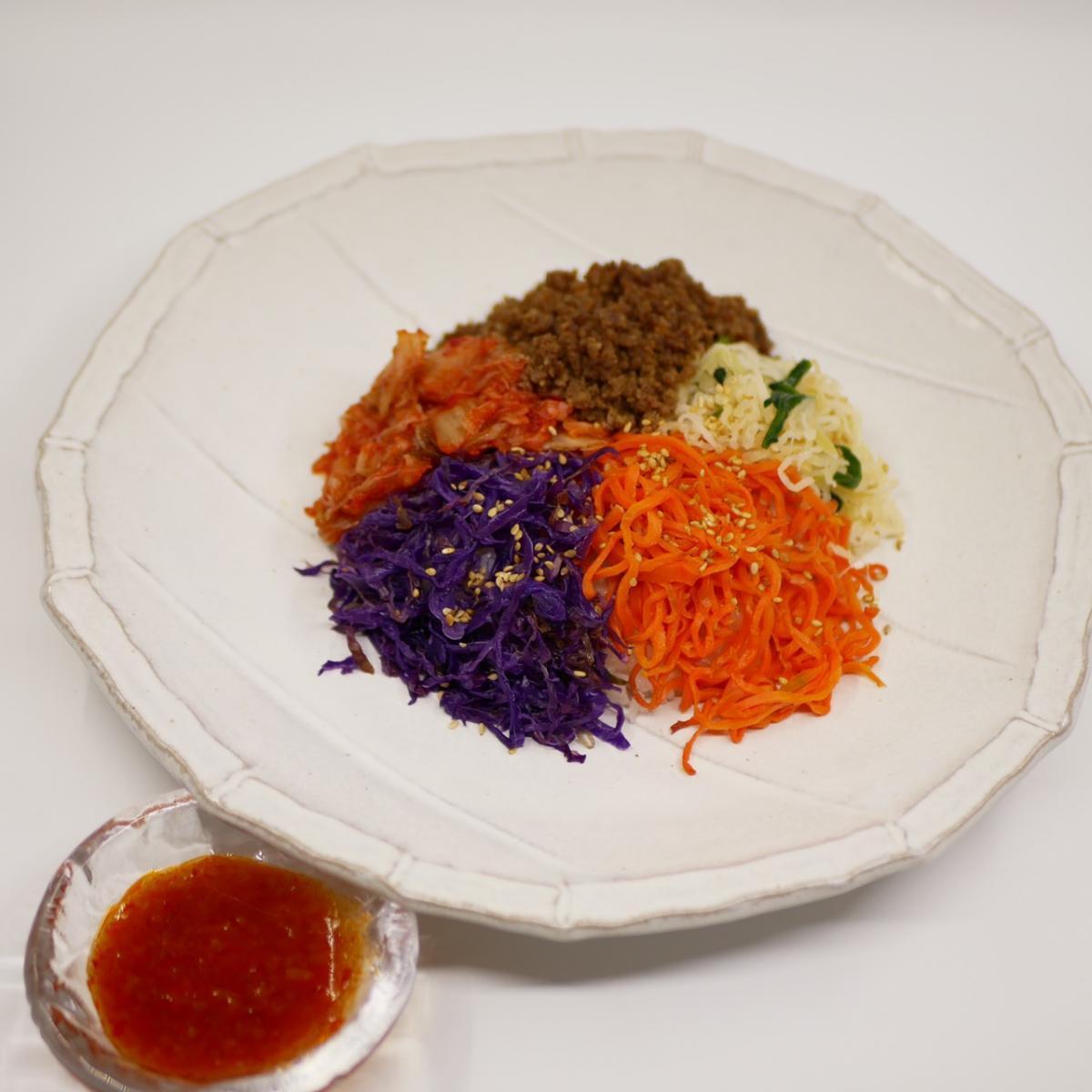 発酵ナムルと彩りビビンバのイメージ