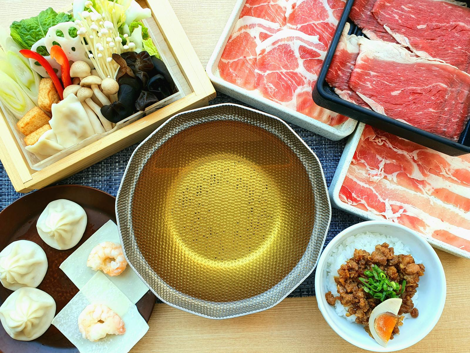 【ランチ】アンガス牛と三元豚・小籠包等食べ放題コースのイメージ