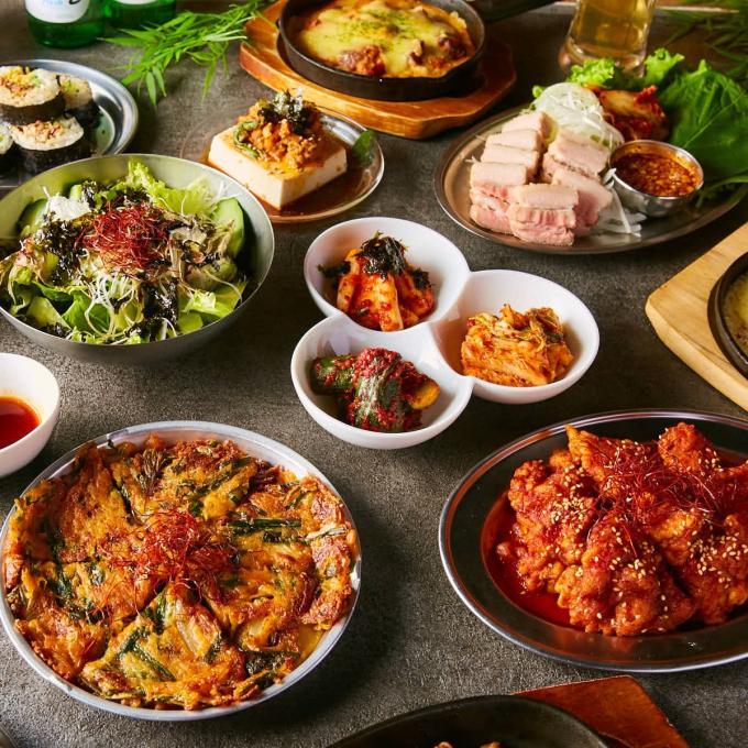 浜焼き×韓国料理の新感覚居酒屋のイメージ