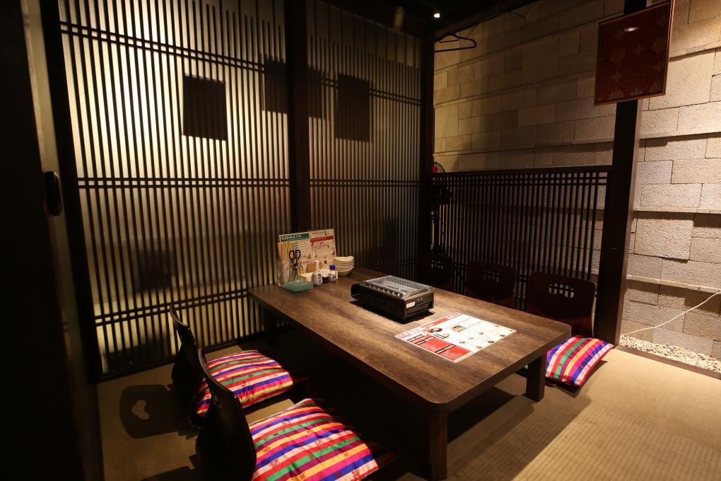 個室は種類豊富。4名~12名での集まりにのイメージ