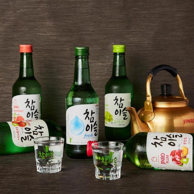 韓国料理に欠かせない!チャミスルの種類も豊富のイメージ