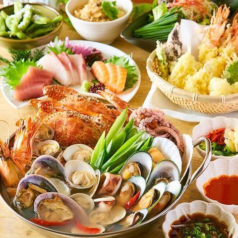 韓国定番の貝鍋「チョゲチョンゴル」のイメージ