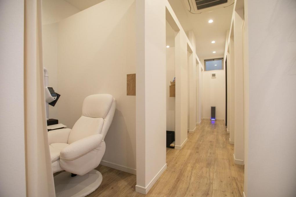 【45分セルフでエステ】三密も回避できる個室ブース完備のイメージ