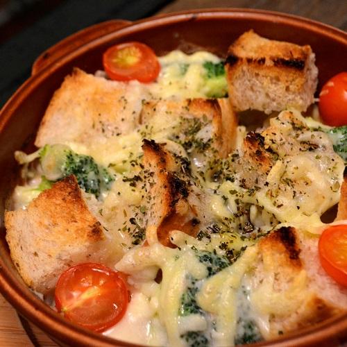 こだわりパンの野菜グラタン Lunch Setのイメージ