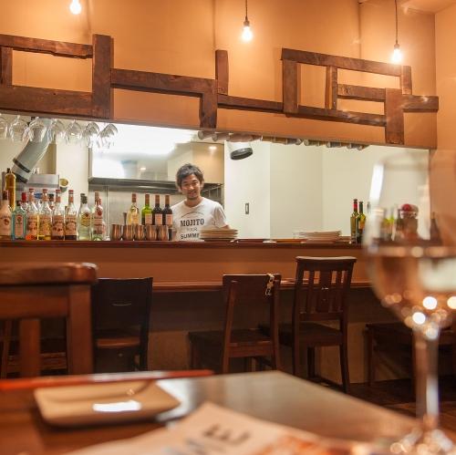 イタリアンなのに、お酒に合う料理が勢ぞろいのイメージ
