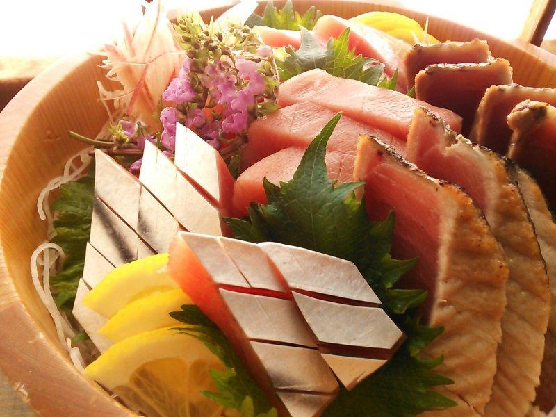 静岡の海鮮と地酒を満喫!5種の地酒も楽しめる2時間飲み放題コースのイメージ