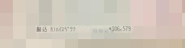 通帳画像(30万円)
