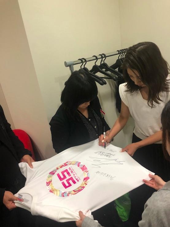 サイン入りTシャツ-1