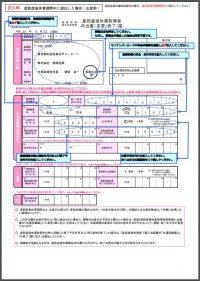日本年金機構 健康保険・厚生年金保険 産前産後休業取得者申出書/変更(終了)届(出産前・記入例)