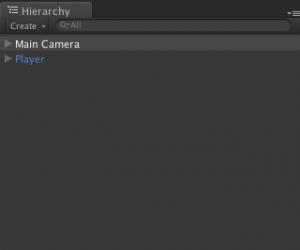 カメラとプレイヤー以外削除