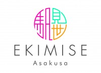 EKIMISE Asakusa 基本ロゴ
