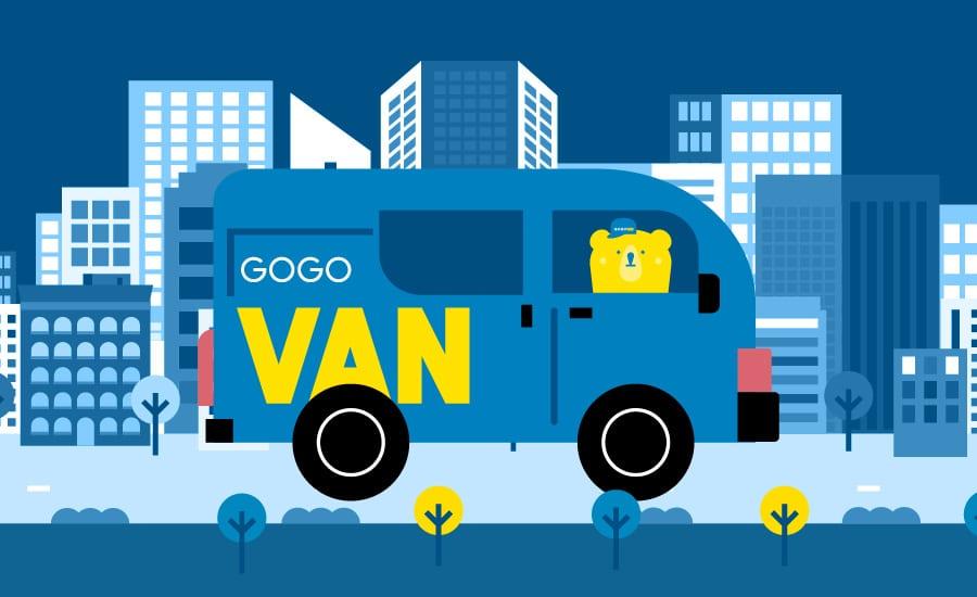 gogovan call4van startupinno