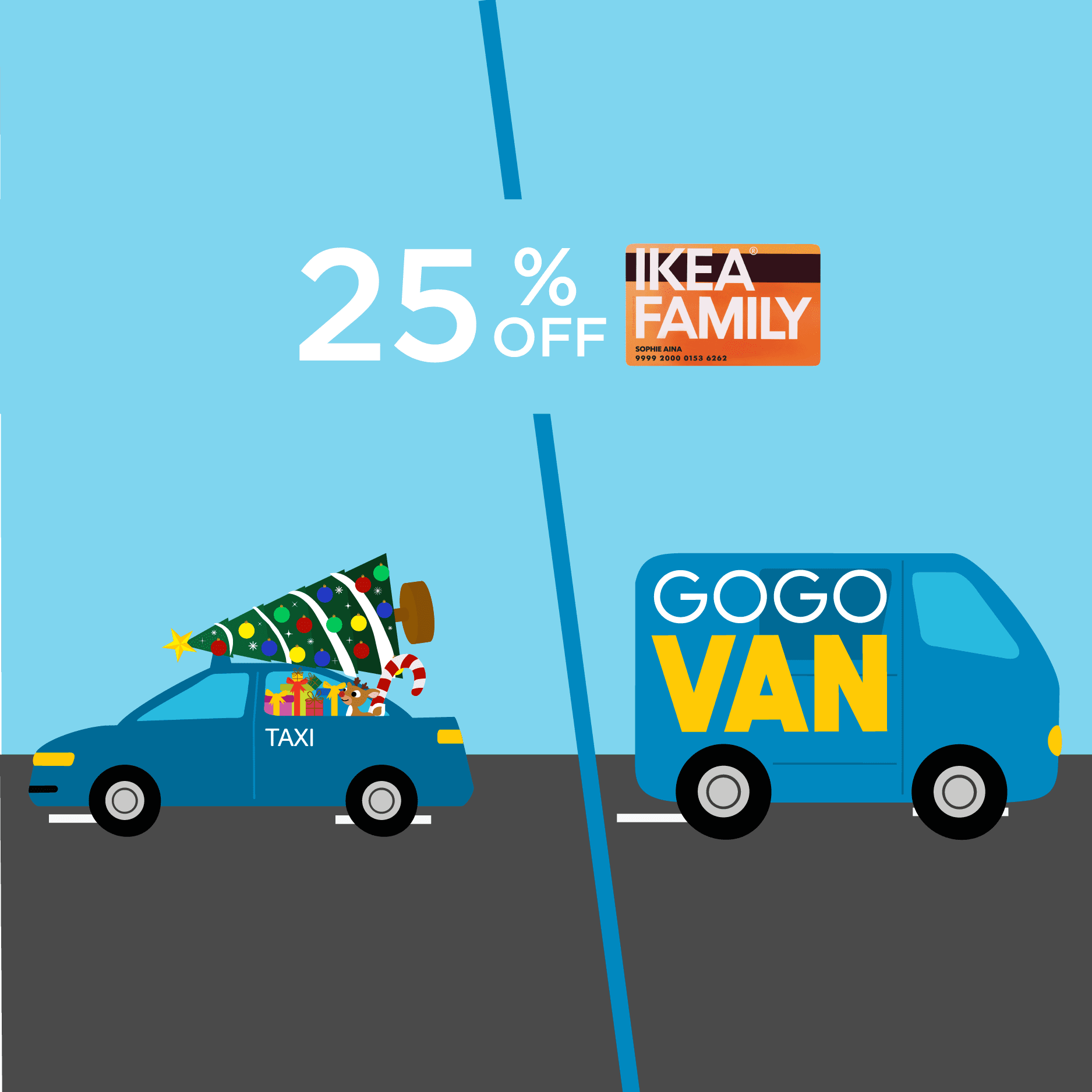 25% off for all IKEA FAMILY members