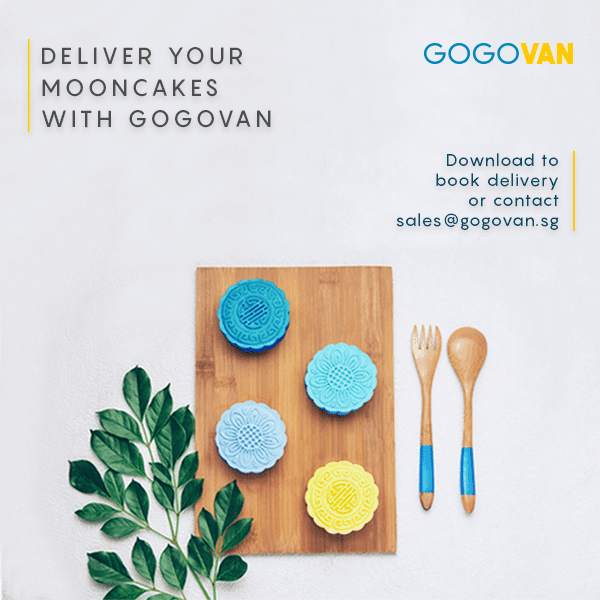 Mooncake Delivery with GOGOVAN for Business