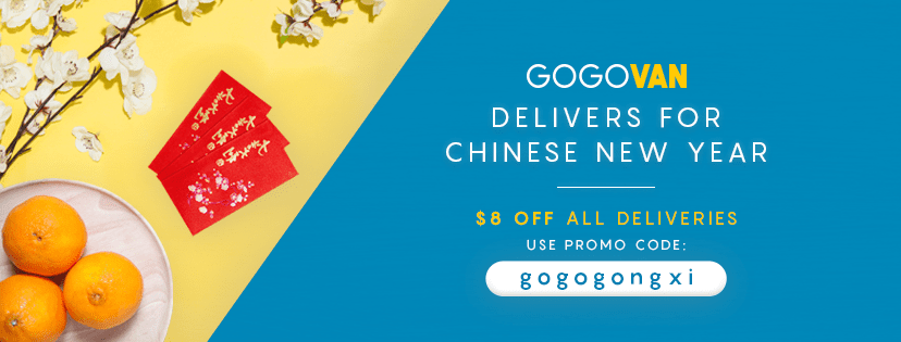 Save $8 OFF Delivery This CNY