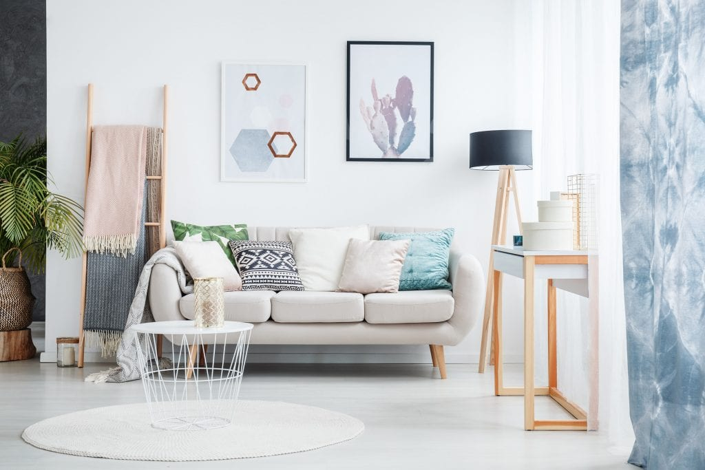 Use small and modular furniture in a small space