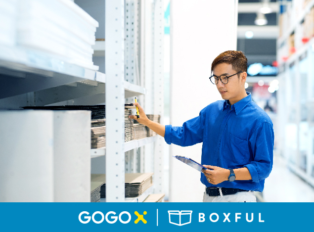 GOGOX_Boxful 電商訂單與倉儲管理