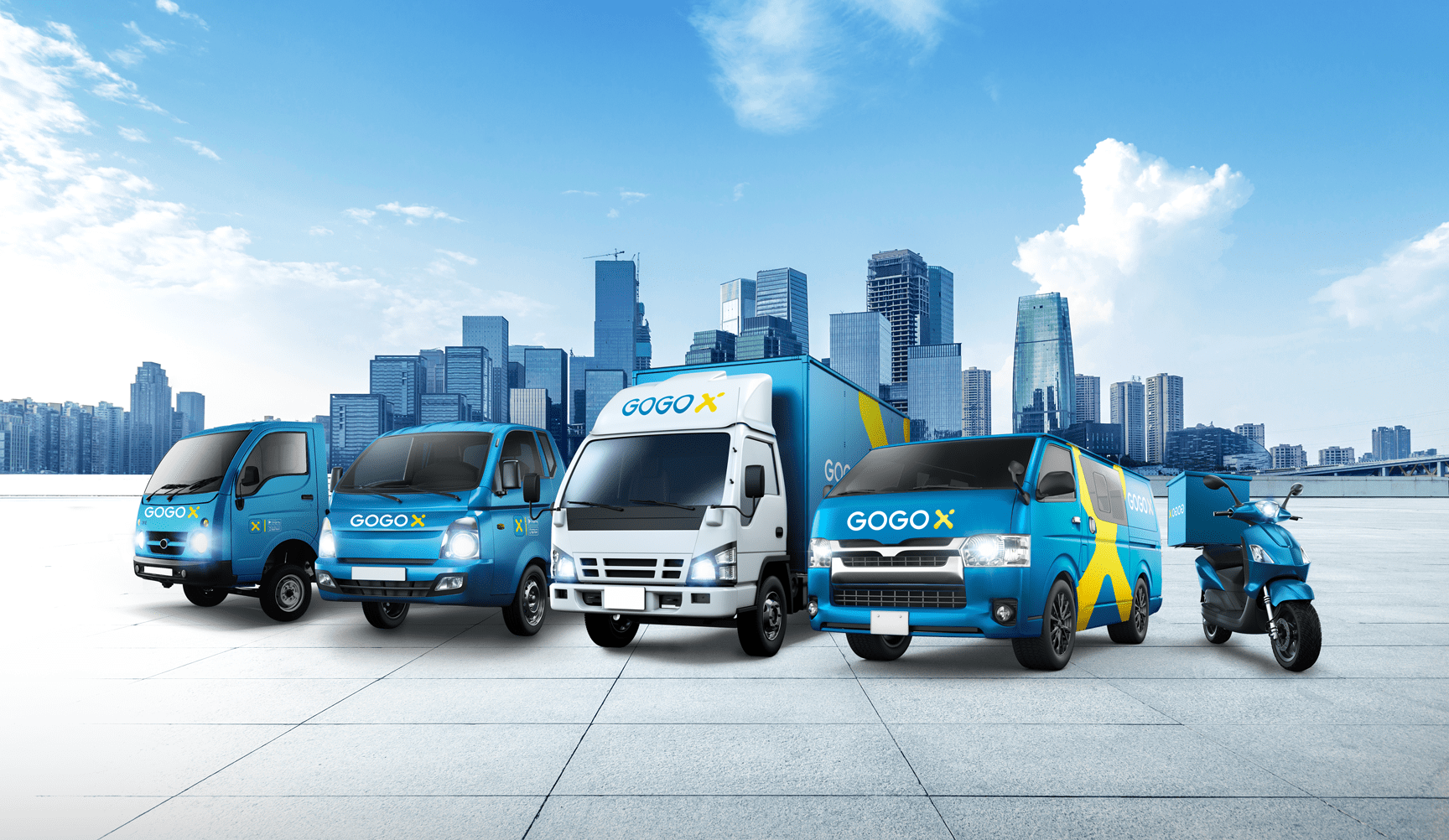 GOGOX Vehicles