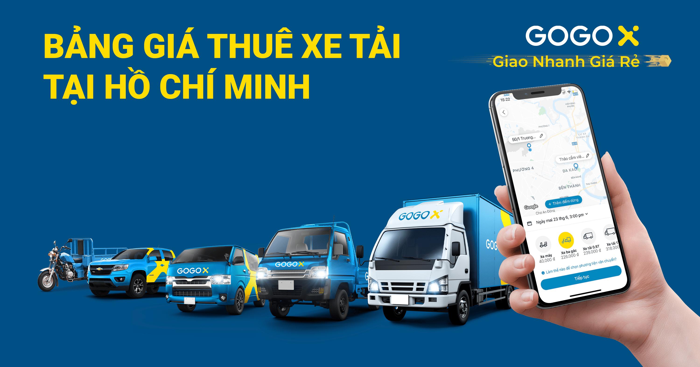 Bảng giá thuê xe tải giao hàng, chuyển nhà Hồ Chí Minh