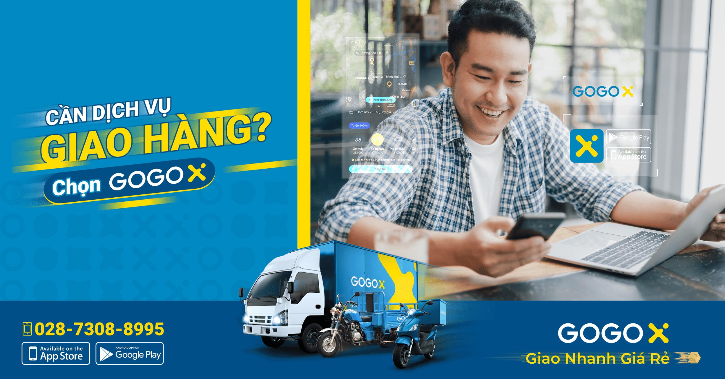 Cần Dịch vụ Giao Hàng - Chọn GOGOX!