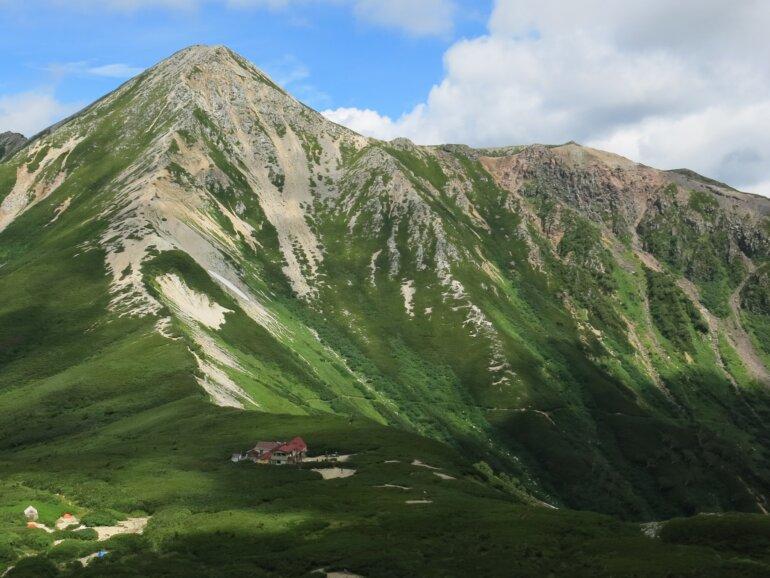 鷲羽岳-4 三股山荘