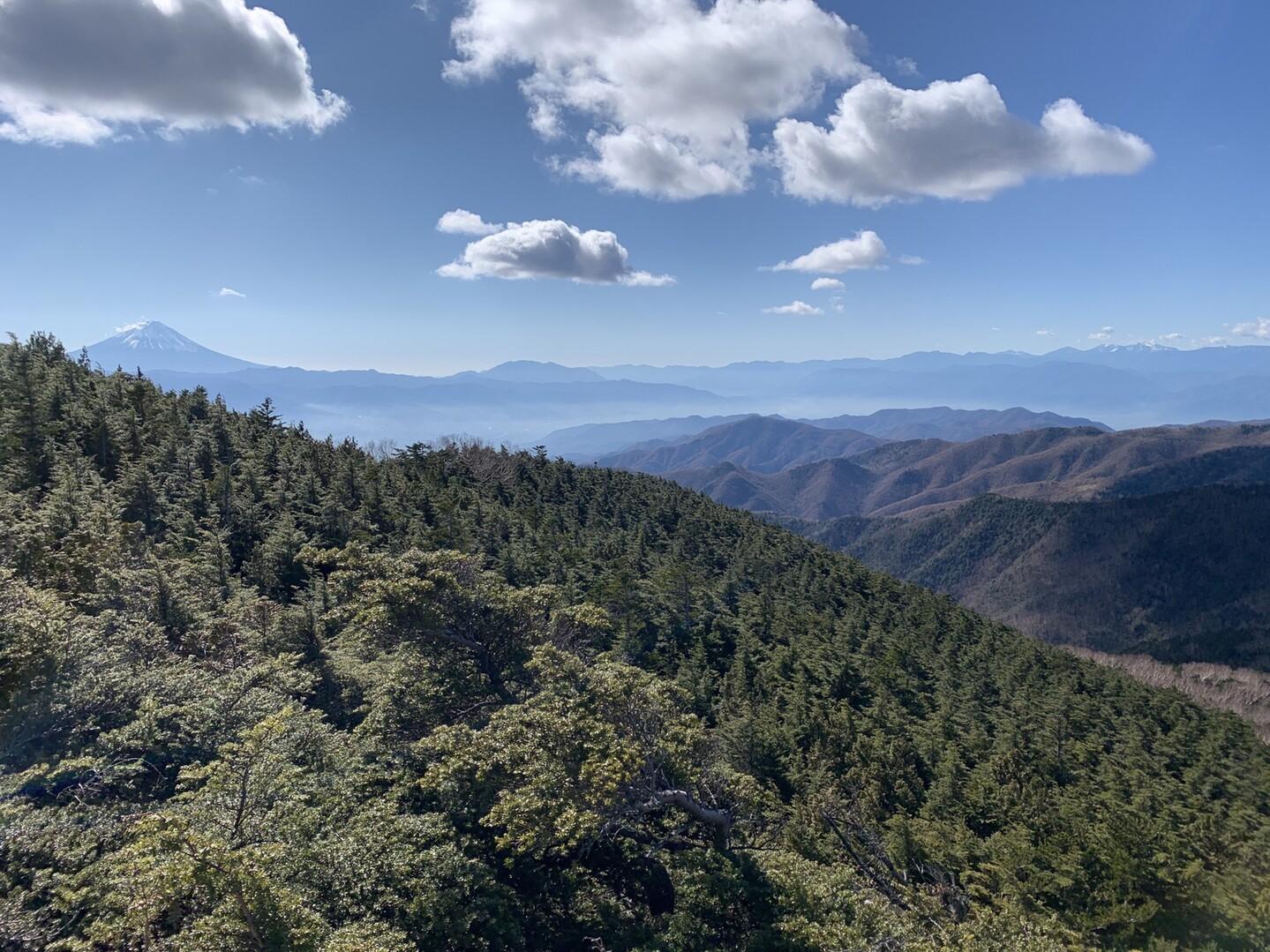 黒金山 山頂景色
