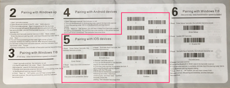 Pairing with iOS devices