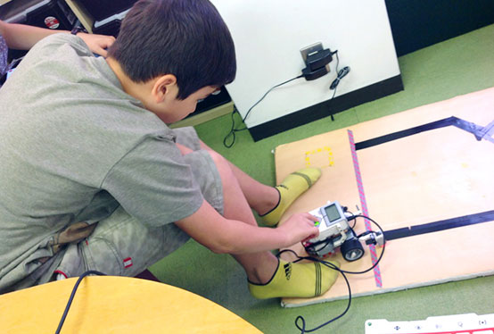 小学4年生のゲーム&アプリプログラミングコース生徒事例