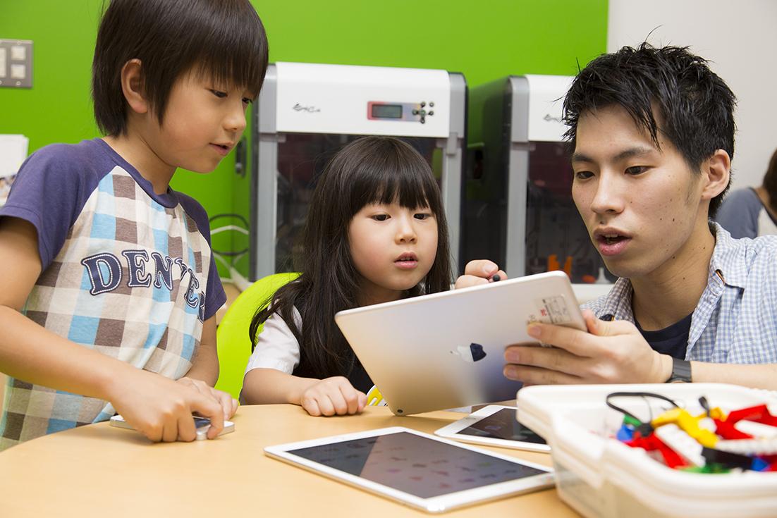 iPadではじめてのプログラミング(年中・年長)