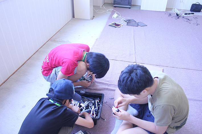 チームで遊ぼう!ロボットプログラミング