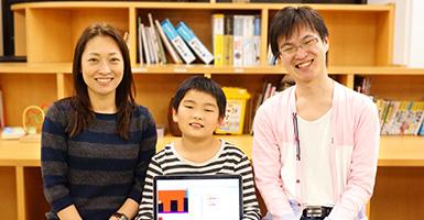 <体験授業された方の声>小学3年生 K.Kくん「ゲーム&アプリプログラミングコース」